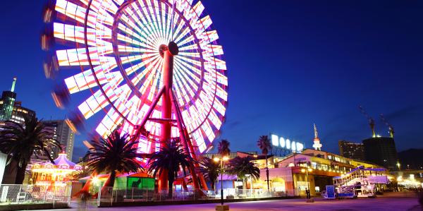 Leisure insurance - Shows a colourful Ferris Wheel