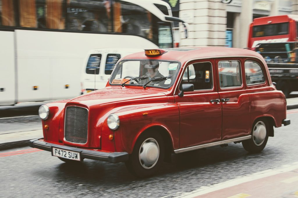 red taxi insurance cost